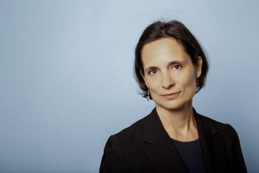Eutelesat Company Secretary Julie Burguburu. Photo: Eutelsat/Hamilton de Oliveira (REA)