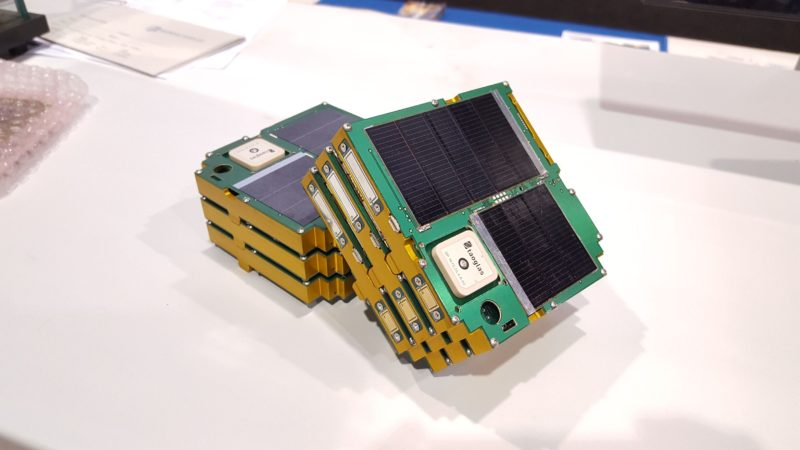 Alta Devices flexible gallium arsenide solar cells power the ThinSat design. Photo: Alta Devices