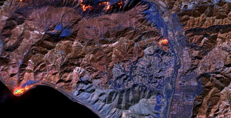 An image from EarthWatch. Photo: DIgitalGlobe