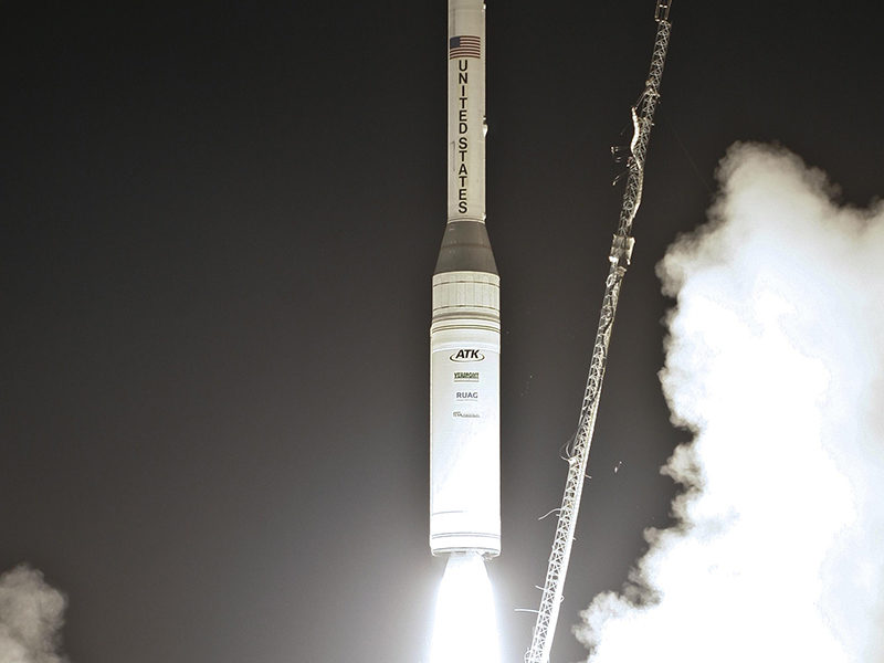 The Taurus XL rocket lifting off on March 4, 2011 from Vandenberg Air Force Base. Photo: NASA