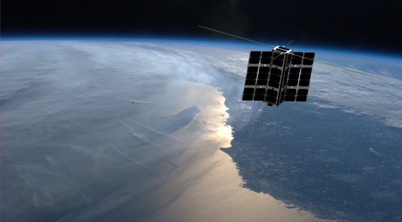Artist rendition of Spire's Lemur-2 satellite. Photo: Spire