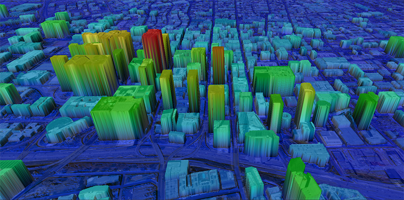 Intermap Technologies' NEXTMap One image. Photo: Intermap Technologies