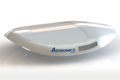 Astronics' new E-Series ESA SATCOM connectivity antennas are being developed in partnership with Phasor. Photo: Astronics