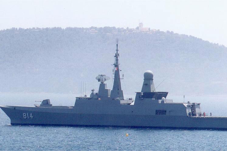 Al-Riyadh-class frigate operated by the Royal Saudi Navy. Photo: Jacques Lahitte