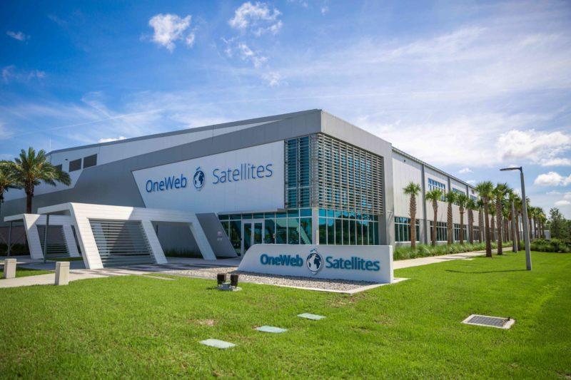 OneWeb Satellites' New Production facility in Florida. Photo: OneWeb, Airbus