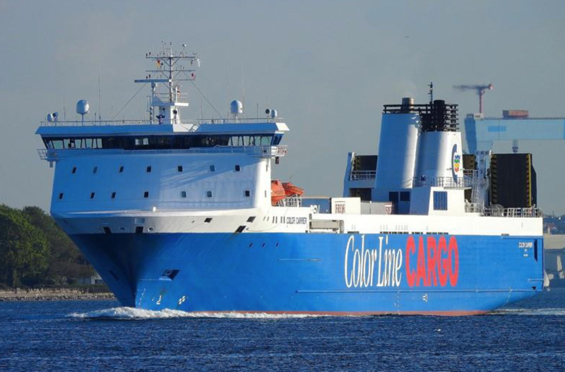 A Color Line Color Carrier vessel. Photo: Nils Junge, marinetraffic.com