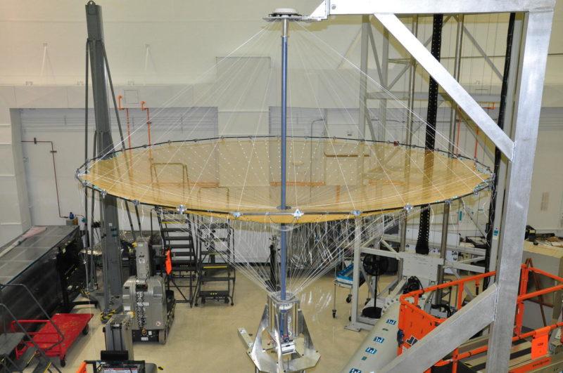 A 5-meter High Compaction Ratio reflector. Photo: Harris