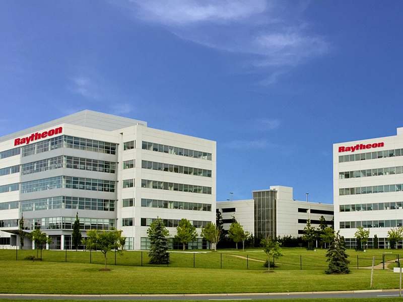 Raytheon corporate headquarters. Photo: Raytheon