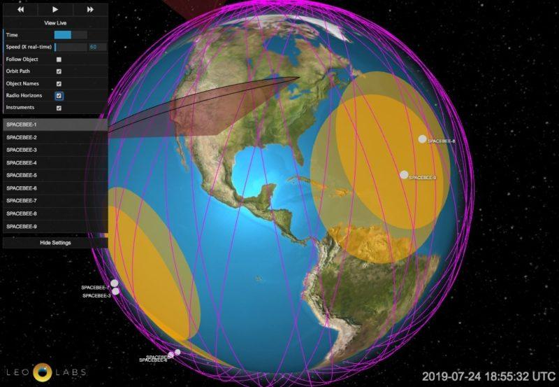 LeoTrack example. Photo: Swarm Technologies