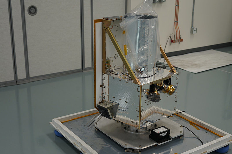 BlackSky's Global-4 is a microsatellite class Earth-imaging system. Photo: Spaceflight