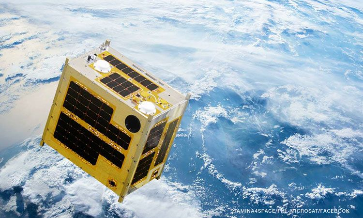 The DIWATA-1, one of the Philippine microsatellites under the PHL-Microsat program. Photo: CNN Philippines