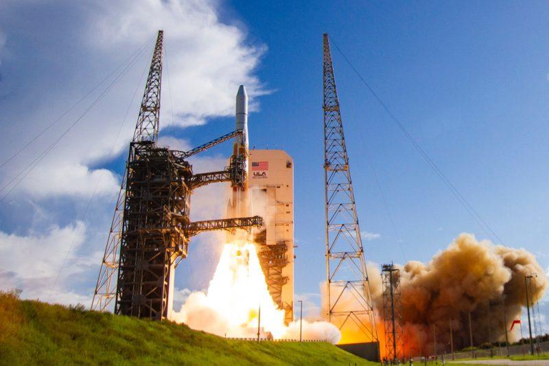 A ULA Delta 4 rocket carrying the 2nd GPS III satellite. Photo: ULA