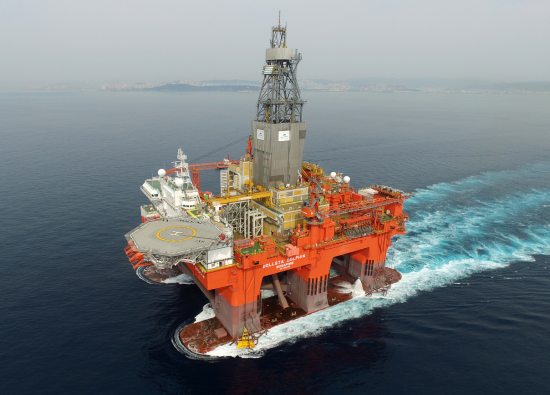 West Bollsta drilling ring. Photo: Northern Drilling