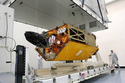 Airbus completed the ocean satellite Copernicus Sentinel-6A. Photo: Airbus / Lorenz Engelhardt