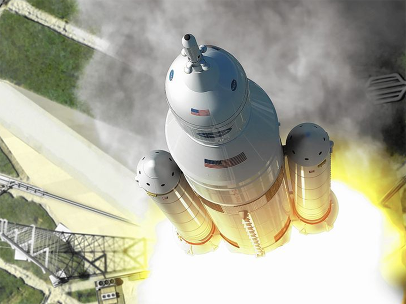 Boeing Builds Rocket Stages for NASA's Artemis Missions