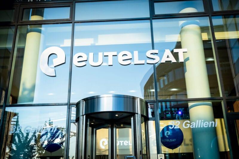 Eutelsat's headquarters in Paris. Photo: Eutelsat