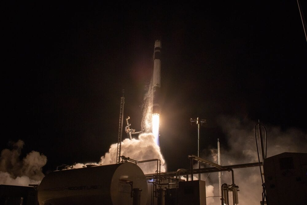 Rocket Lab Launches Synspective's First SAR Satellite