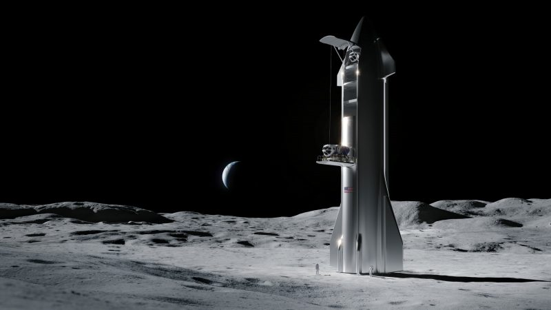 CNBC: US Government Denies Blue Origin's Protest of SpaceX Lunar Lander Award